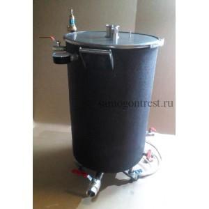 Пароводяной котел (ПВК) 115 л с крышкой под мешалку