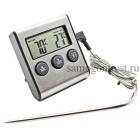 Термометр с приводным датчиком и звуковым оповещением